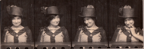 My Gran - Winnie Haines nee Chick, circa 1920s