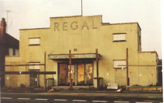 Craven Arms Regal prior to demolition