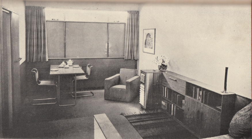 Interior of Heatehrdale from Your House and Mine 1938