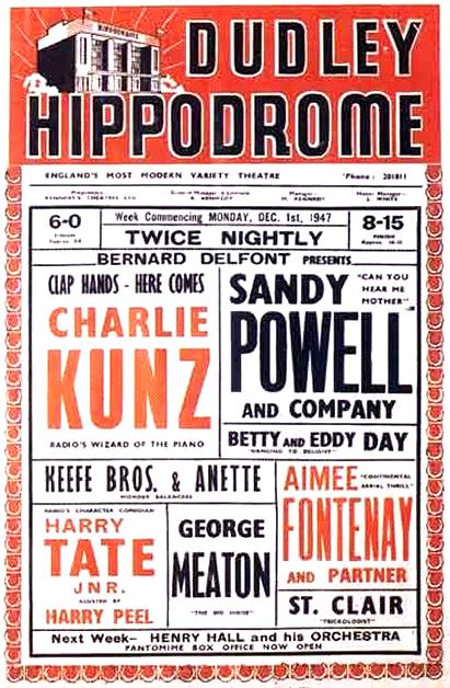 1947 Bill Poster