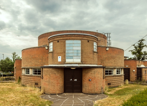 Southfields (aka Pork Pie) Library, Leicester (1939) by Symington, Prince & Pike