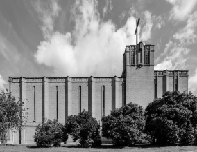 St Barnabas, Gloucteser (1940) by N. F. Cachemallie-Day