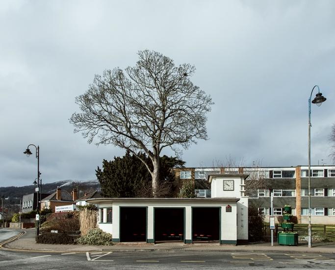 Barnards Green War Memorial Bus Shelter, Malvern