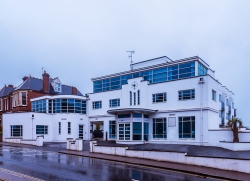 Former 'Motor Mecca' Garage, Exeter (1933) by R. M. Challace & Son