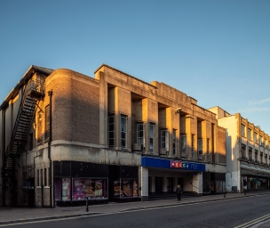 Former Plaza Super Cinema, Gloucester (1935) by E. C. M. Wilmott