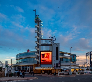 Pleasure Beach Casino, Blackpool (1937-40) by Joseph Emberton